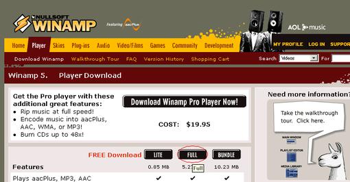Winamp_downloadsite_ss